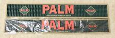 """Palm Belgium's Amber Ale Rubber Bar Rail Spill Mat 23x3"""" - Brand New In Bag!"""