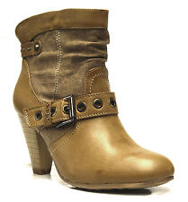 Synthetic Leather Pull On Cowboy, Western Boots for Women