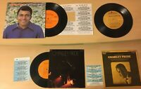 Charley Pride (3) Compact Jukebox EP 33 RPM.  Mini LP's, Used with title strips