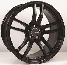 18x8 Enkei TX5 5x108 +45 Black Rims Fits Ford Taurus Sho Mercury