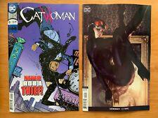 CATWOMAN #9 Main + Stanley Artgerm Lau Variant Set 1st Print DC 2019 NM+