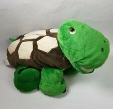 "20"" Stuffies ""Shuffle the Turtle"" Plush Stuffed Animal has Seven Secret Pockets"