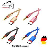 ✅ USB C AUX Kabel in Audio USB C Adapter Klinke 3,5mm auf USB Type C in music ✅