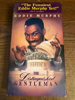 The Distinquished Gentleman VCR VHS Tape Movie  Eddie Murphy Rated R Used