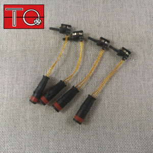 4x Front and Rear Brake Pad Wear Sensors fit for Mercedes Benz W211 W220 00-14