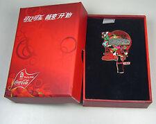 2008 Beijing Olympic Coca Cola Coke Sponsor 3D Pin Set