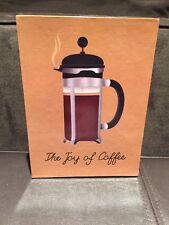 Papyrus-Joy of Coffee Keepsake Assorted Box (Set of 20) 5 each of 4 designs. New
