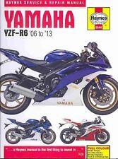 Yamaha YZF-R6 Haynes Motorcycle Repair Manuals & Literature