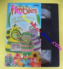 VHS film cartonata FIMBLES le impronte misteriose BBC animazione (F36) no dvd
