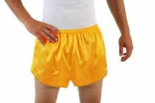Gold Athletic Running Shorts