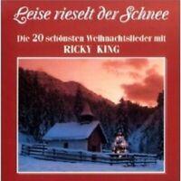 "RICKY KING ""LEISE RIESELT DER SCHNEE"" CD 20 TRACKS NEU"