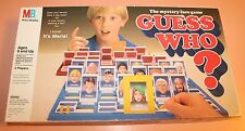 Vintage Milton Bradley 1987/1991 Guess Who? Mystery Face Game COMPLETE