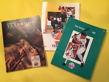 Vintage Minnesota Twins Yearbook Lot Of 3 1989, 1990, 1991 30th Anniversary Ed