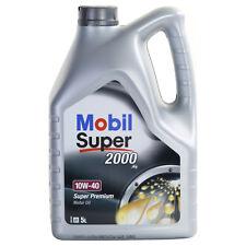 OLIO MOTORE Mobil 1 SUPER 2000 X1 10W-40 5 LITRI ACEA A3/B3  API SL/SJ/CF  VW MB