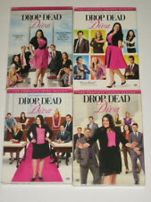 Lot of 4 Drop Dead Diva Complete Seasons 1,2,3 & 4 DVDs  Bundle,Sets