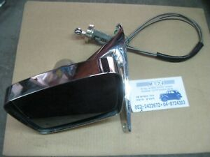 FoMoCo Original 1967-1968 Ford Mustang Outside Mirror Deluxe Remote Left Side