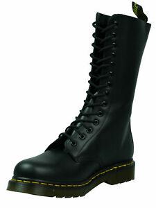 Dr. Martens Doc 14 loch Stiefel Boot 1914 Black Smooth Schwarz  5073