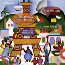 Heitor Villa-Lobos : The Complete Choros and Bachianas Brasileiras CD 7 discs