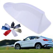 Universal White Car Auto Shark Fin Roof Antenna Dummy Fake Decorative Aerial
