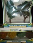 Life Like 1015 Giant Green Shade Trees and Spring Trees 1006 Lot NEW SEALED