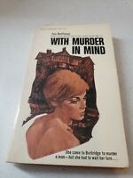 With Murder in Mind by Roffman, Jan Vintage Mystery Paperback 1963 ACE