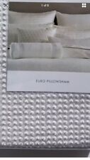 New Hotel Collection Plume Euro Pillow Sham - Brand New