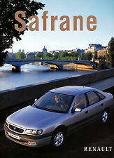 Prospekt 1997 Renault Safrane 7 97 car brochure Autoprospekt Auto Pkw Frankreich