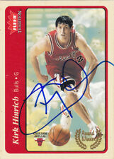 KIRK HINRICH CHICAGO BULLS SIGNED 2004-05 CARD ATLANTA HAWKS WASHINGTON WIZARDS