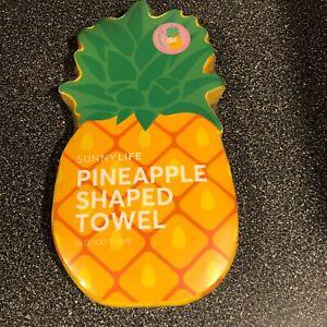 Sunny Life Pineapple Shaped Large Beach Towel  Brand New Sealed