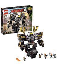 LEGO The Ninjago Movie Quake Mech 1202 Pieces - NEW/SEALED 70632 - RETIRED