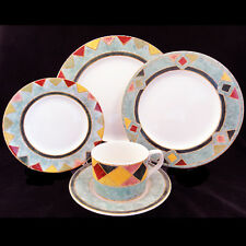 JAPORA by Royal Doulton 5 Piece Place Setting NEW NEVER USED made in Indonesia