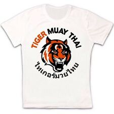 Muay Thai Tiger Phuket Tailandia fresco de estilo vintage y retro Hipster Unisex T Shirt 1671