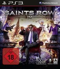 PlayStation 3 Saints Row IV 4 100% UNCUT Deutsch OVP Neuwertig