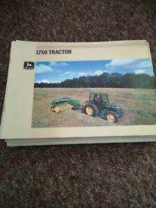 John Deere 1750 Tractor Brochure