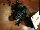 PENTAX K-5 IIs 16.3MP Digital SLR Camera with18-55mm Lens and Battery grip.