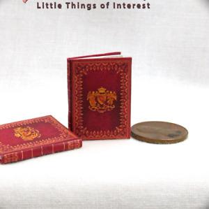 MEDIEVAL ALCHEMY Miniature Book Dollhouse 1:12 Scale Splendor Solis Gold