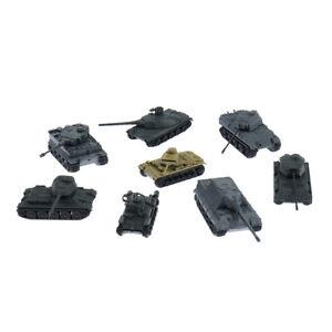 1:144 Model Toy 4D Sand Table Plastic Tiger Tanks World War II Germany Tank*