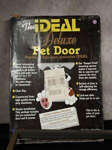 The Ideal Deluxe Pet Door SUPER Large Door 15in. x 20in. High Quality*