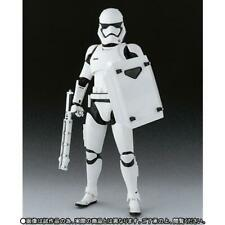 """S.H Figuarts Star Wars """"First Order Stormtrooper Shield and Baton"""" Action Figure"""
