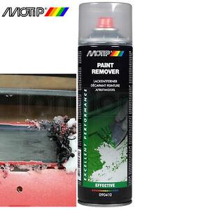 Motip Paint Remover Stripper Gel Spray Aerosol Removes Old Layers Graffiti 500ml