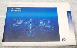 BMW R 1100 GS Libretto Tecnico