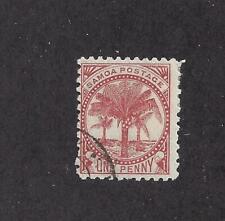 SAMOA -12 - USED - 1886 - PALMS