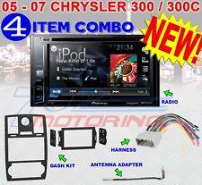 05 06 07 CHRYSLER 300 300C DOUBLE DIN CAR RADIO STEREO
