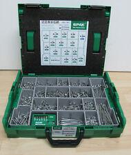 Spax® Schrauben T-STAR plus Sortimentsbox groß 2446 tlg. mit Bit-Box,Wirox