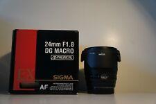 Sigma 24mm F/1.8 DG ASPHERICAL MACRO AF For Sony Minolta A Mount Lens