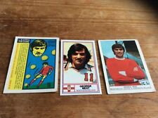 George Best Manchester United Football Trading Cards
