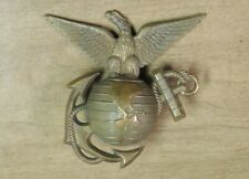 Very Nice Usmc Ega For The 1880's-1890's Enlisted Shako Screwback With Wingnut
