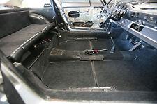 PORSCHE 911 / 912 GERMAN HARGAAN VELOUR CARPET KIT 1965 - 1968 BLACK CHARCOAL