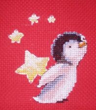 KL76 Starstruck! Penguin Cross Stitch Kit by Genny Haines