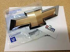 Chevrolet Malibu Front Grille Gold/Chrome Bow Tie EMBLEM new OEM 23131644